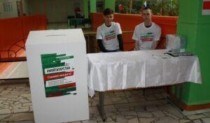 70% нижнекамцев, проголосовавших на выборах, заполнили анкеты по программе «Наш двор»