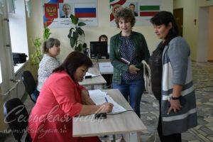 В Аксубаевском районе РТ по предварительным подсчетам проголосовали 90% избирателей
