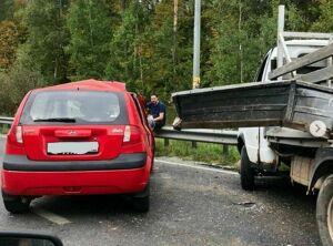 Из-за аварии на Горьковском шоссе в Казани образовалась многокилометровая пробка