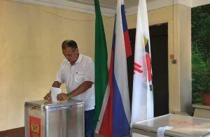 Айрат Хайруллин: Именно сельские жители обеспечили высокую явку на выборы с утра