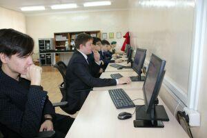 В двух школах Менделеевска открыли компьютерные классы