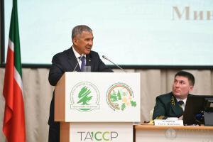 Минниханов поблагодарил Путина за возможность решать экологические проблемы в РТ