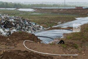 Срок эксплуатации мусорных полигонов Татарстана закончится в2022 году
