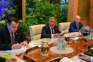 Президент РТ обсудил с главой Рослесхоза минимизацию рисков лесных пожаров