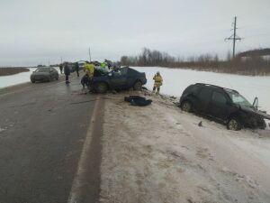 Жертвами страшной аварии в Арском районе РТ стали три человека