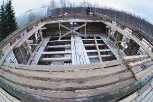 Новый фундамент вывезенной на реставрацию в Вологду мечети Большой Елги заложат в мае