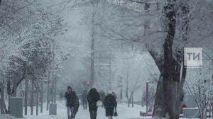 Синоптики предупреждают о гололедице и слабом снеге в Татарстане