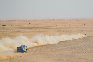 Десятый этап ралли Дакар остановили из-за сильного ветра