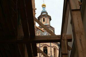 В Казани укрепят колокольню Петропавловского собора, где починят часы купца Климова