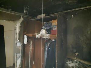 Житель челнинской многоэтажки уснул с тлеющей сигаретой в руках и погиб в огне