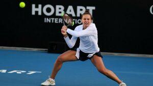 Вероника Кудерметова вышла в четвертьфинал теннисного турнира в Австралии