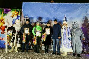 В Мамадышском районе подвели итоги новогодних гуляний