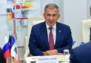 Минниханов переизбран председателем Совета Ассоциации инновационных регионов России