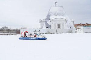 Из-за теплой погоды отменили крещенские купания у храма-памятника на Казанке