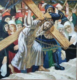 Меценат подарил челнинскому храму картину Владимира Акимова на Крещение