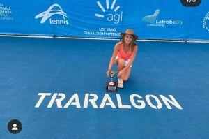 Полина Кудерметова выиграла международный теннисный турнир в Австралии