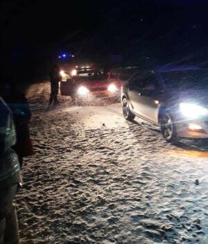 На трассе М7 в Татарстане иномарка слетела в кювет, водитель в больнице