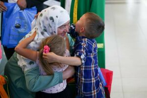 Верхнеуслонцы отпраздновали Международный день объятий