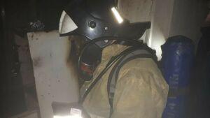В Альметьевске из задымленного от пожара подъезда спасли двух человек