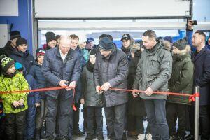 На картодроме Челнов открыли обновленный класс для начинающих спортсменов
