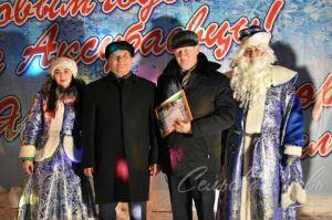 В поселке Аксубаево выбрали организации, лучшие в новогоднем оформлении