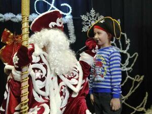 В Болгарском доме культуры провели «Новогоднюю сказку»