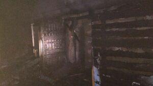 Мужчина и женщина погибли на пожаре в частном доме в поселке Нагорный в Казани