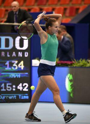 Вероника Кудерметова не сумела пробиться в 1/16 финала теннисного турнира в Австралии