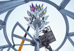 В Альметьевске смонтируют 9-метровый солнечный факел и смотровую площадку