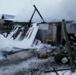 Пожилая женщина погибла на пожаре в частном доме в Заинском районе РТ