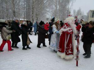 Жители Елабуги отметили Рождество песнями и хороводами