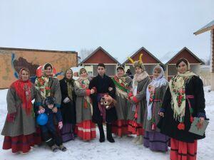 Более 2,5 тысяч гостей съехались на Рождественский фестиваль в село Никольское