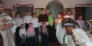 В Кузнечихе Спасского района дети подготовили рождественский концерт