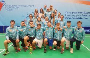 Сборная Татарстана стала второй в командном чемпионате России по бадминтону