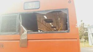 Две пассажирки получили травмы в столкновении двух автобусов в Казани