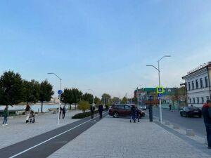 В Казани появилась вымощенная брусчаткой улица