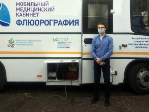 В Нижнекамске студентов колледжей проверят на туберкулез во флюоромобиле