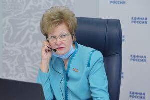 Ларионова: Из-за пандемии жительницы Татарстана боятся остаться без работы