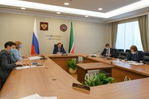 Песошин принял участие в совещании у вице-премьера России Голиковой