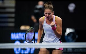 Вероника Кудерметова вышла в 1/8 финала теннисного турнира в Чехии