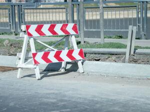 В Казани временно перекрыли участок проспекта Ямашева