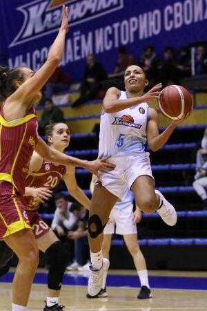 Баскетболистки «Казаночки» одержали четвертую подряд победу на старте сезона
