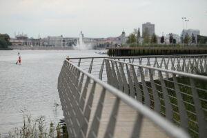 В Казани пешеходный мост на озере Нижний Кабан построят за 69,5 млн рублей