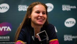 Вероника Кудерметова улучшила свою позицию в рейтинге WTA