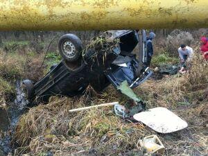 Водитель получил тяжелые травмы, вылетев за рулем авто на скорости в кювет в РТ