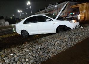 В Татарстане столкнулись два авто с пьяными водителями, один после аварии сбежал