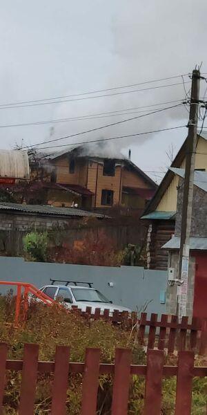Под Казанью вспыхнула крыша жилого дома