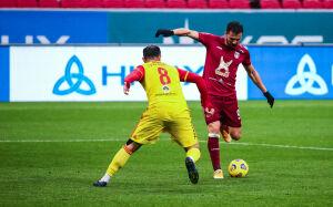 Наставник «Арсенала» об игре с «Рубином»: «Сегодня, возможно, не хватило силенок»