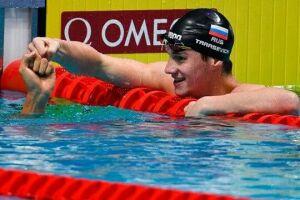 Григорий Тарасевич завоевал три золотые медали на чемпионате России по плаванию