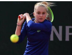 Полина Кудерметова вышла в четвертьфинал юниорского турнира на «Ролан Гаррос»